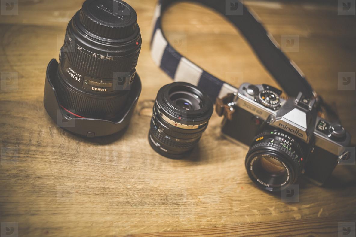 vintage digital photo equipment