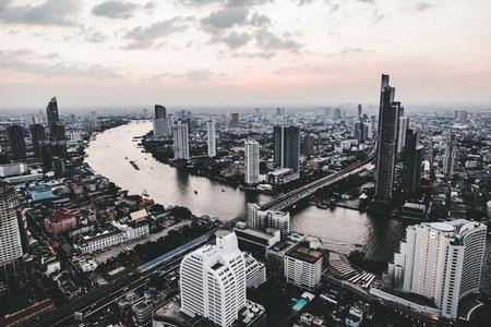 Aerial view of Bangkok 01