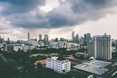 Aerial view of Bangkok 03