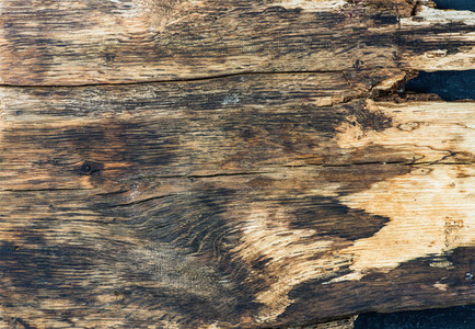 Old rustic natural wood texture wallpaper and background