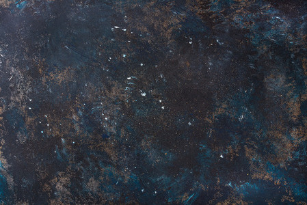 Old dark blue painted plywood texture wallpaper and background