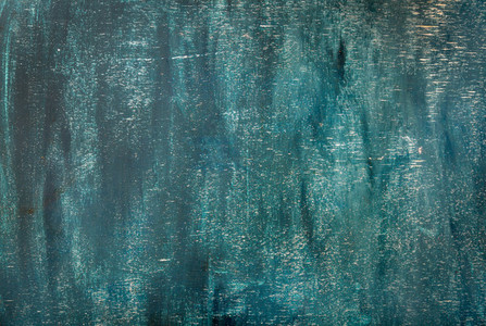 Dark blue painted old plywood texture background or wallpaper