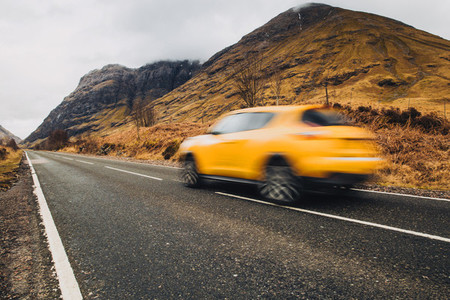 Car driving in Scotland