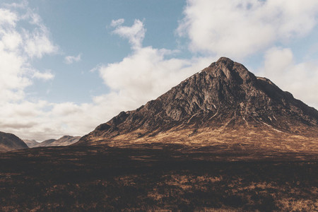 Mountain in Glencoe Scotland