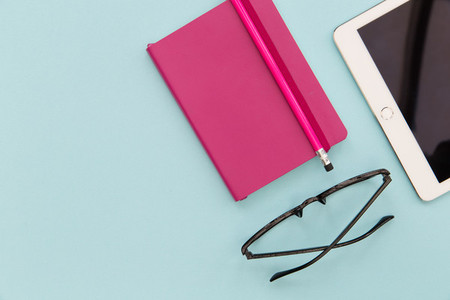 iPad Notebook   Glasses