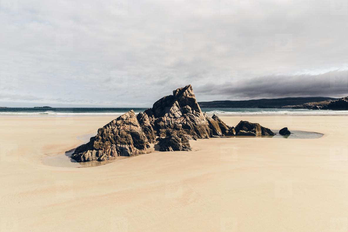 Deserted Beach Scotland