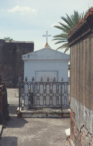 White Tomb in St  Louis Cemetery