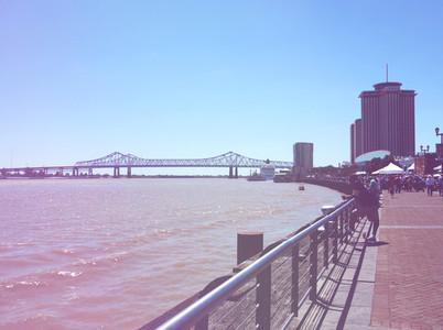 River Walk  Mississippi River