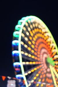 Ferris Wheel Bokeh