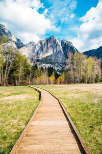 Yosemite pathway