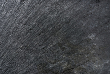 Old black slate stone texture  background or wallpaper