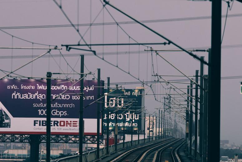 Sky train railway