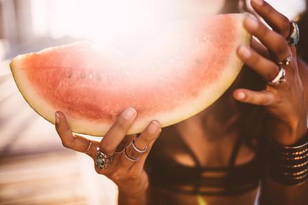 Close up of fresh watermelon