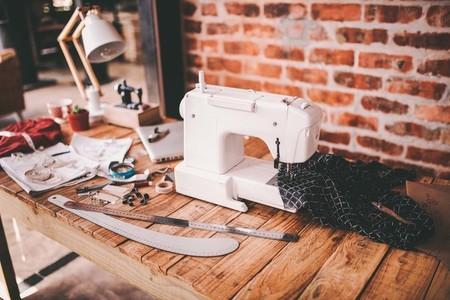 Office Desk of fashion designer
