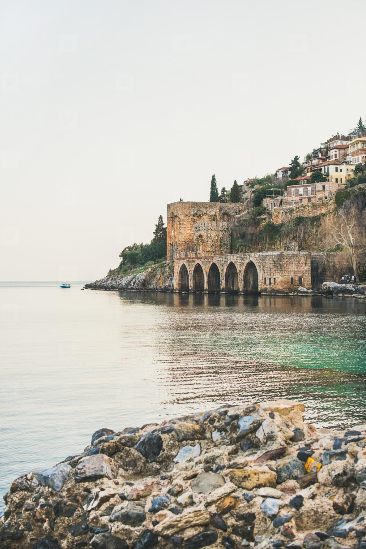 Photos - Alanya medieval fortress, wall, shipyard and ...