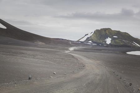 Gravel road in Iceland 05