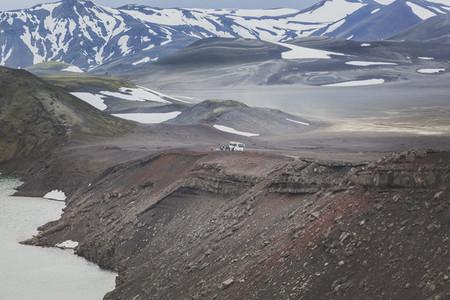 Gravel road in Iceland 09
