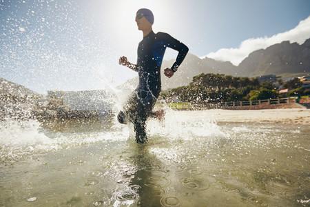 Training for triathlon competition
