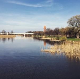 Nogat river  Poland