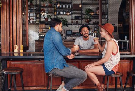 Best friends meeting in a coffee shop