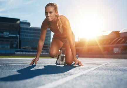 Running with determination