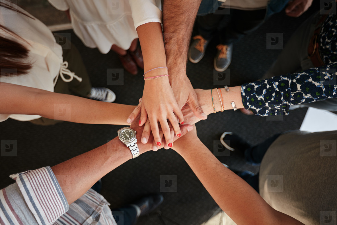 Symbol of teamwork  cooperation and unity