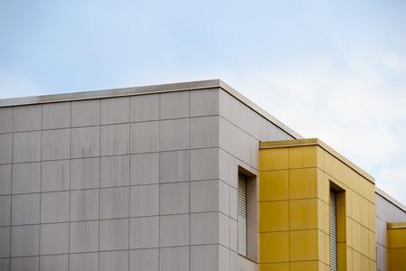 Yellow building brick