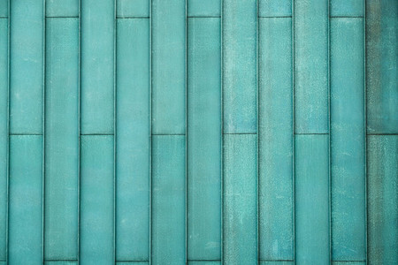 Aqua color metal texture