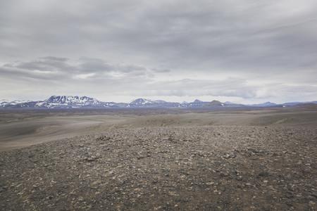 Volcanic Landscape  Iceland