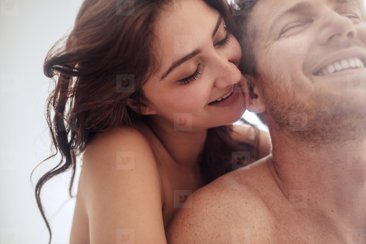 Sensual young couple together