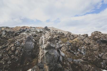 Lava field of Laugahraun