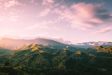 Mountain in summer time 02