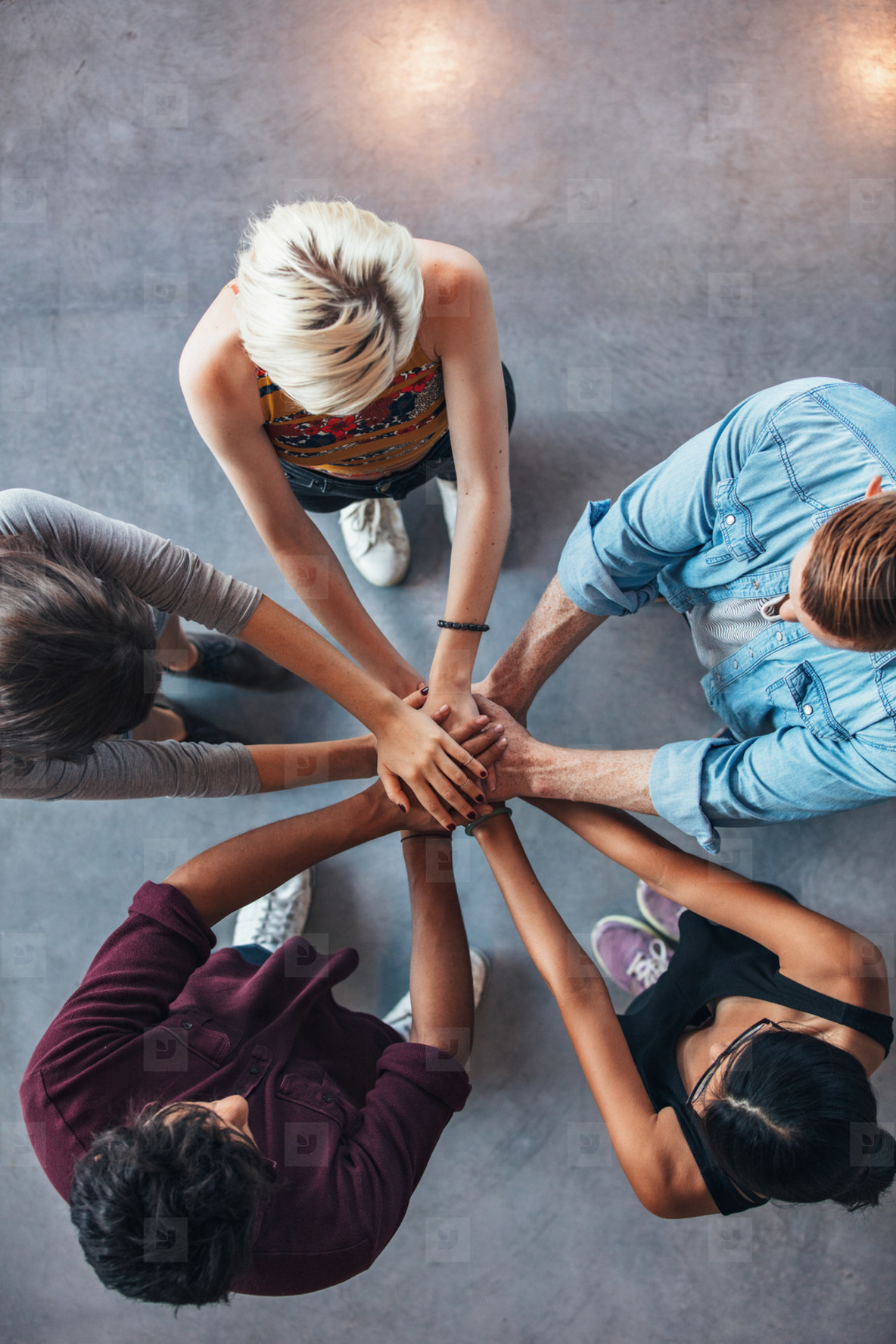Symbolizing unity and teamwork