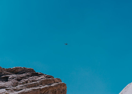 Drone at Vasquez Rocks