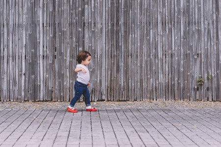 Young Child Walking