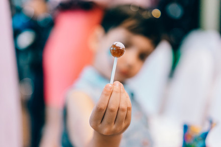 Lollipop Bokeh