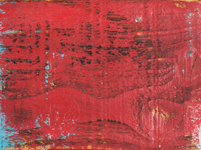 Red painted old rustic shabby wood texture