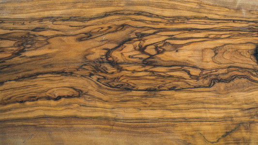 Old olive wood slab texture
