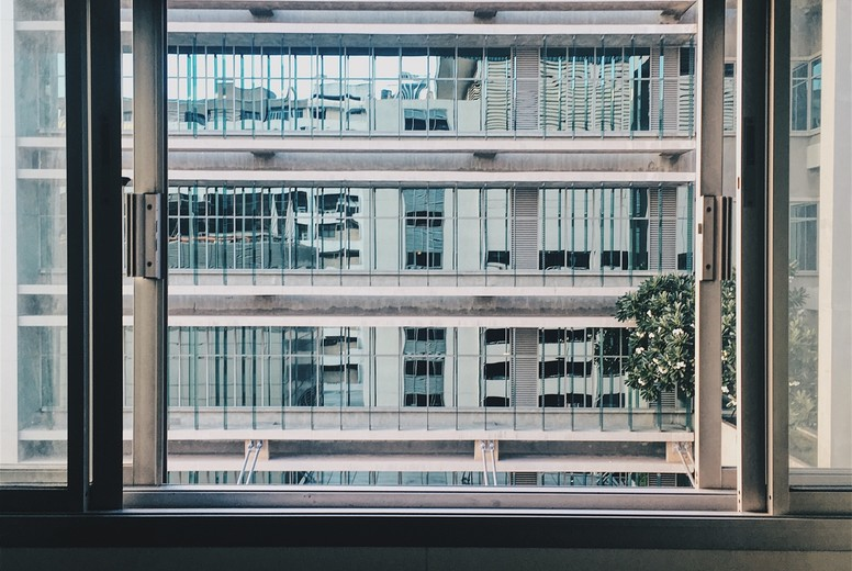 Window view of building