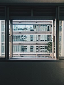 Window view of building