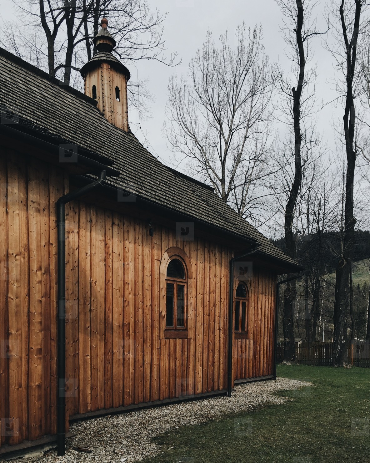 Wooden Traditional House