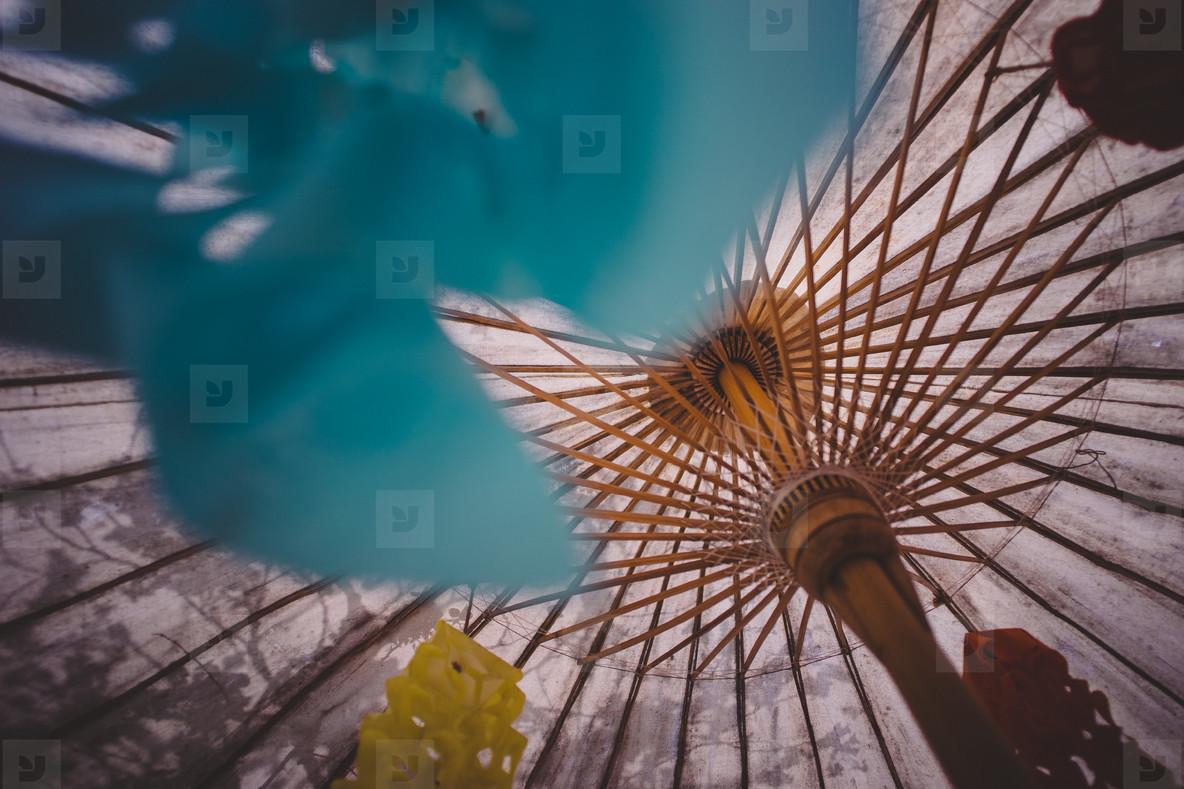 Asian Umbrellas 2