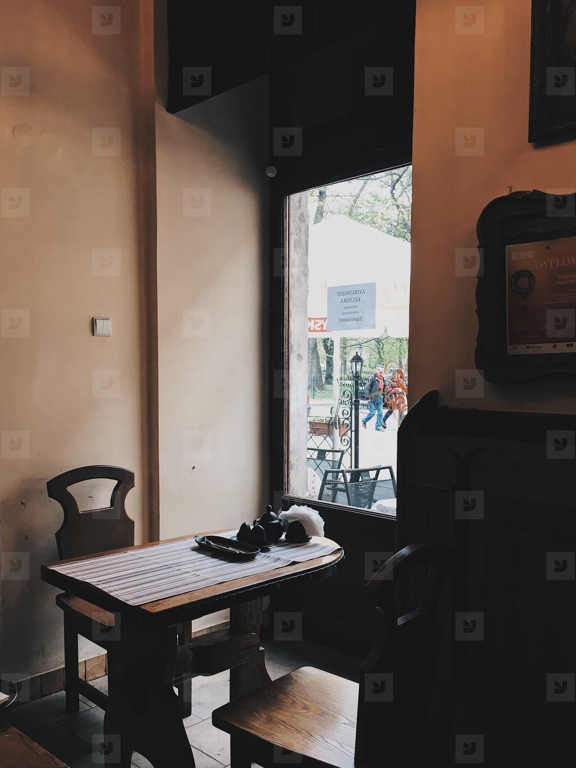 Vintage interior restaurant