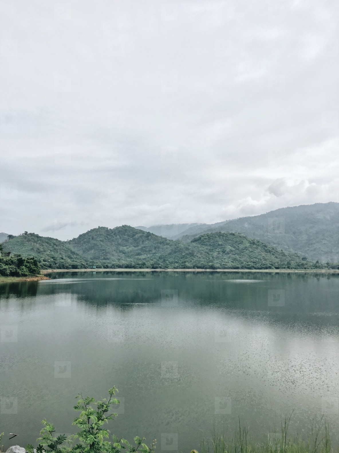 View of Khun Dan Prakarnchon Dam