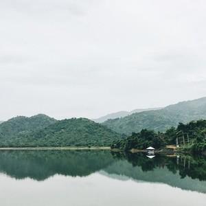 View of Khun Dan Prakarnchon Dam