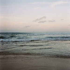 Beach in evening