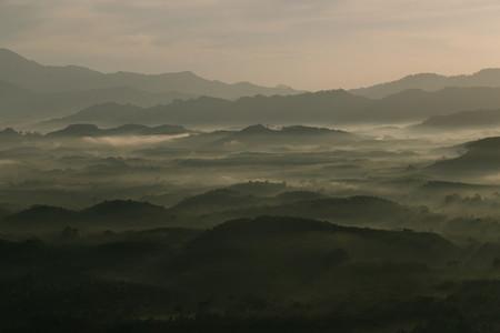 Morning mist mountain 04