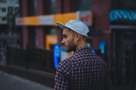 man in urban