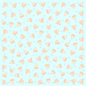 Repeating geometric vector pattern