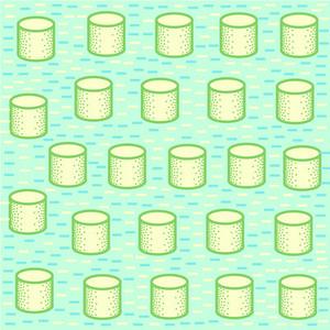 Repeating geometric  pattern